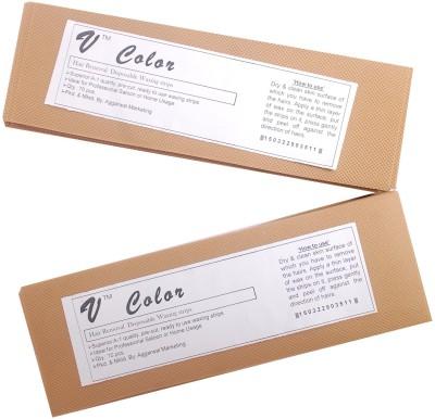 V-Color Waxing Strips - Beige-140 Pcs