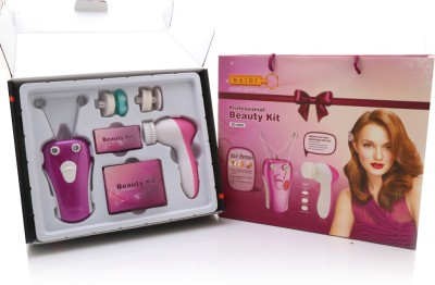 Baidi Multifunction Face and Body Epilator with Facial Cleanser Beauty Kit(240 g)