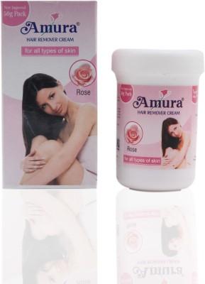 Amura Colour Cosmetics Hair Removing Cream Rose