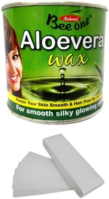 Out Of Box Beeone Aloevera Body Wax with 100 Wax Strips