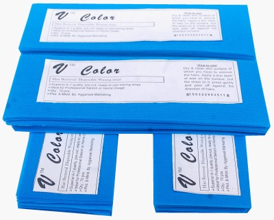 V-Color Waxing Strips - Blue-280 Pcs(280 g)