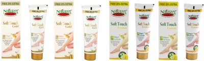 Nature's Essence Soft Touch Gold and Lemon Hair Removal Cream 50 Gram 4Pcs