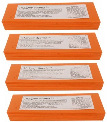 Makeup Mania Waxing Strips - Orange-280 Pcs(280 g)