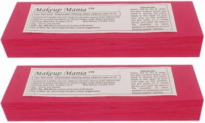 Makeup Mania Waxing Strips - Magenta-140 Pcs(140 g)