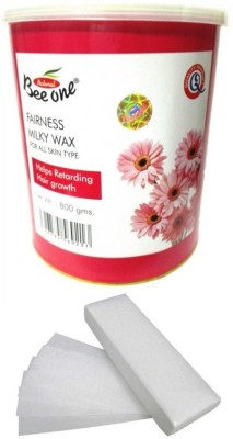 Out Of Box Beeone Fairness Milky Wax and 100 Strips(800 g)