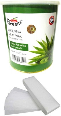 Out Of Box Beeone Aloevera Milky Wax and 100 Strips