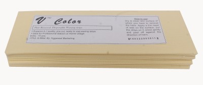 V-Color Waxing Strips - Ivory-70 Pcs