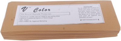V-Color Waxing Strips - Beige-70 Pcs(70 g)