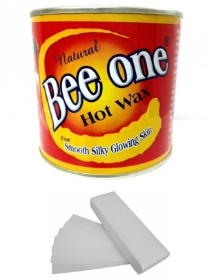 Out Of Box Beeone Hot Wax with 100 Wax Strips