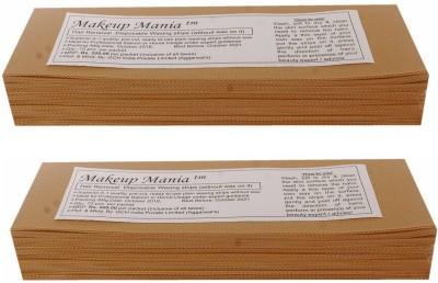 Makeup Mania Waxing Strips - Beige-140 Pcs(140 g)
