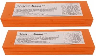 Makeup Mania Waxing Strips - Orange-140 Pcs(140 g)