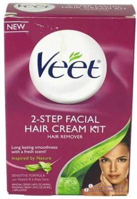 Veet Facial Hair Remover Cream Kit