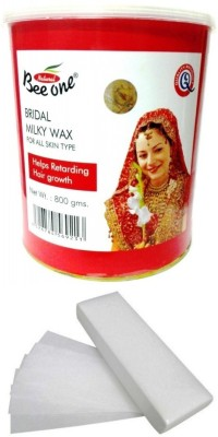 Out Of Box Beeone Bridal Milky Wax with 100 Strips(800 g)