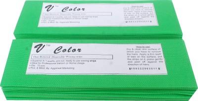 V-Color Waxing Strips - Green-140 Pcs