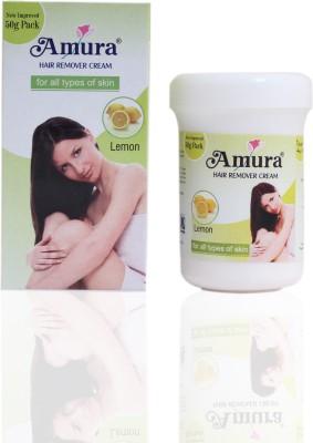 Amura Colour Cosmetics Hair Removing Cream Lemon