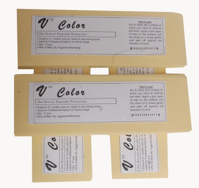 V-Color Waxing Strips - Ivory-280 Pcs