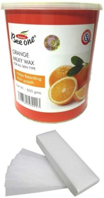 Out Of Box Beeone Orange Milky Wax and 100 Strips