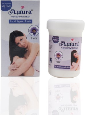 Amura Colour Cosmetics Hair Removing Cream Floral