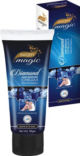 swarn magic diamond hair remover cream (Also used for bikni hair removal) cream(50 ml)