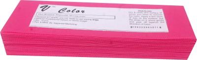 V-Color Waxing Strips - Magenta-70 Pcs