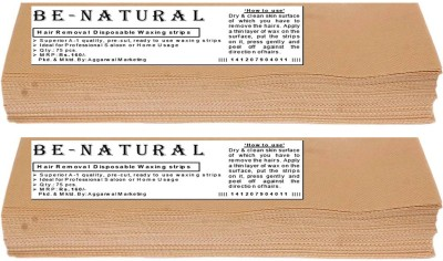 Be-Natural Waxing Strips -90GSM(140)