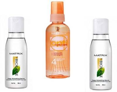 Matrix 2 biolage & 1 opti care serum(Combo pack)(300 ml)