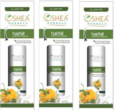 Oshea Herbals Hairfall Control Serum 50 Ml(Pack of 3)
