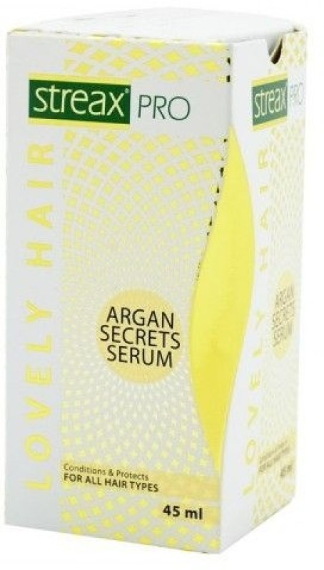 Streax Pro Lovely Hair Argan Secrets Serum(45 ml)