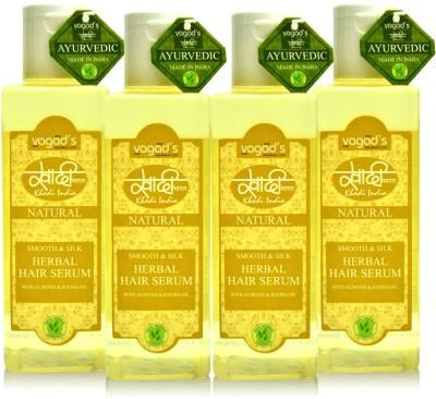 Khadi Natural Khadi Smooth & Silk Hair Serum [ PACK OF 4]