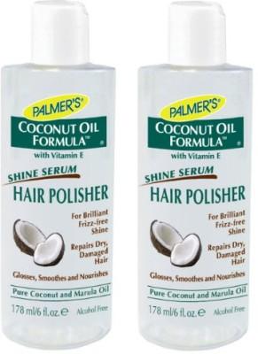 Palmer's Coconut Oil Formula Hair Polisher (Pack of 2)