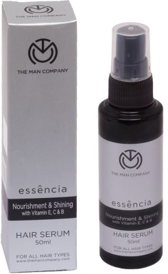 The Man Company Hair Serum- Nourishment & Shining with Vitamin C, E and B Essential Oils(50 ml) at flipkart