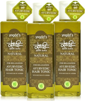 Khadi Natural Khadi Relaxation Hair Tonic [PACK OF 3]