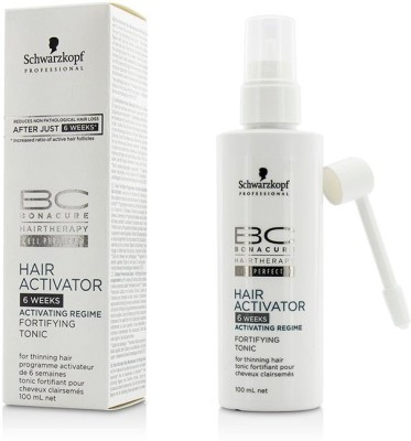 Schwarzkopf BC Hair Activator 6 weeks Activating Regime Fortifying Tonic (For Thinning Hair)(100 ml)