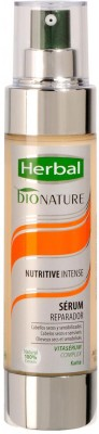 Herbal Bionature Nutritive Instense Serum Reparador for Sensitized hair