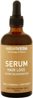 Amsarveda 100% Natural Hair Loss Serum - Active Rejuvenation