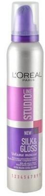 L,Oreal Paris New Silk&Gloss Mousse Studio Line 5