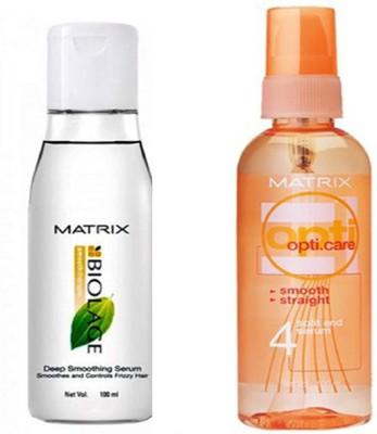 Matrix 1 biolage serum & 1 opti care serum(Combo pack)(200 ml)