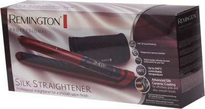 Remington S9600 Silk Straightener Hair Straightener(Red, Black)