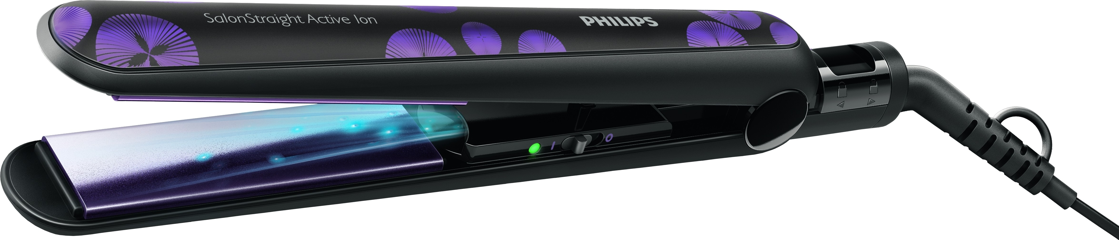 Утюжок для волос philips salonstraight active ion