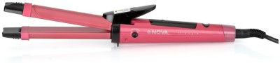 Nova NHC-990 Hair Straightener(Red)