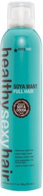 Sexy Hair Healthy Soy And Cocoa Soya Want Full Hair Firm Hold Hair Spray Hair Styler