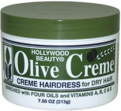 Hollywood Beauty Olive Cream Hairdress Hair Styler