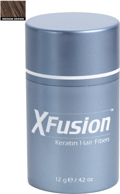 XFusion Keratin Fibers Regular Size Medium Brown Hair Styler