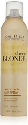 John Frieda Sheer Blonde Crystal Clear Shape And Shimmer Hair Spray Hair Styler
