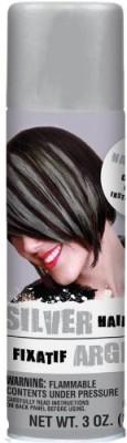 Amscan Color Hair Spray S Silver Hair Styler