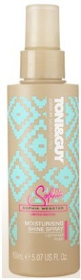 Toni & Guy Glamour Moisturising Shine Spray Hair Styler