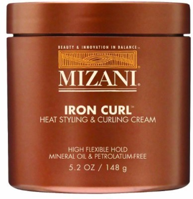 MIZANI Iron Curl Heat Styling And Curling Cream Hair Styler