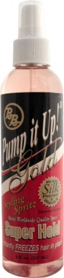 Bronner Brothers Pump It Up Spritz Gold Spray Hair Styler