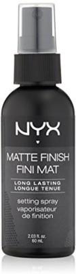 NYX Cosmetics Make Up Setting Spray Matte Finish/Long Lasting Hair Styler