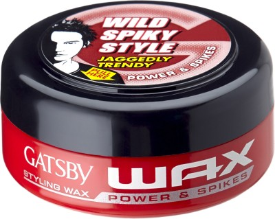 Gatsby Hair Styling Wax Power & Spikes Hair Styler
